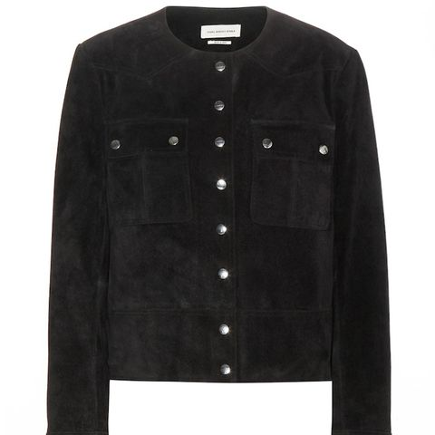 Allard Suede Short Jacket