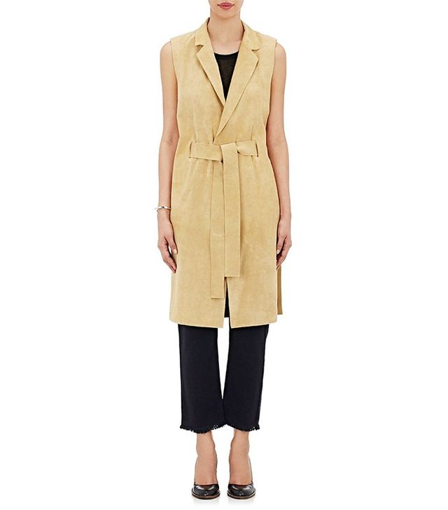 Simon Miller Suede Trench Vest