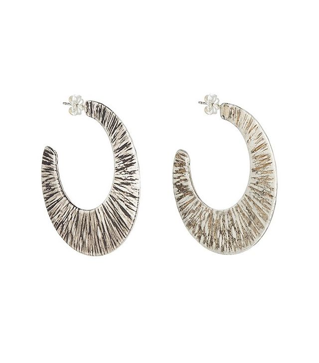 Simon Miller x Rebecca Pinto Stone Hoop Earrings