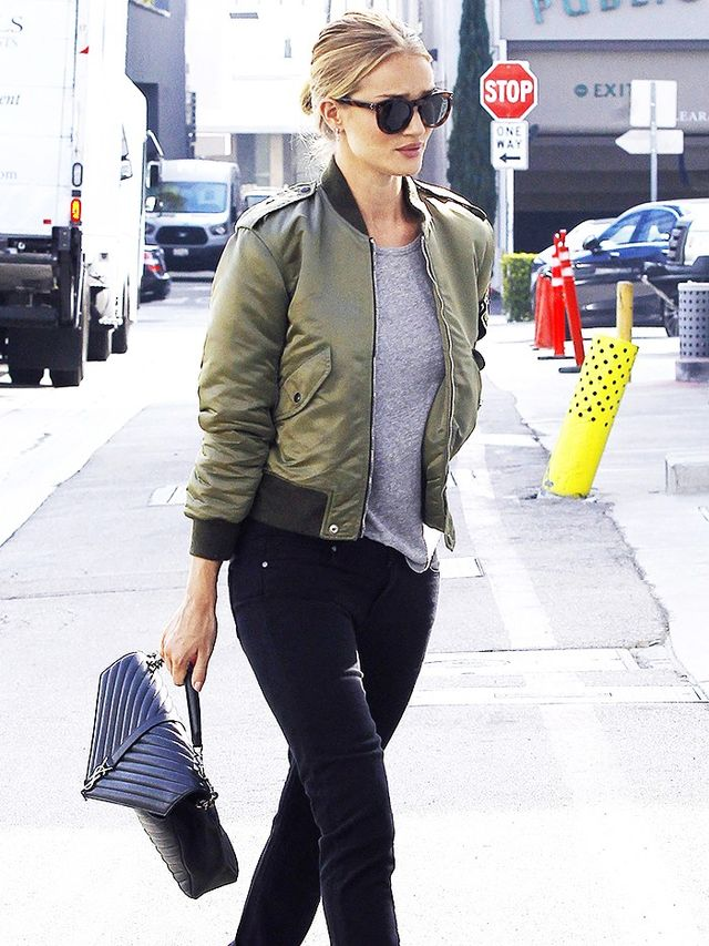 How It Girls Wear Bomber Jackets (and You Should Too) | WhoWhatWear AU