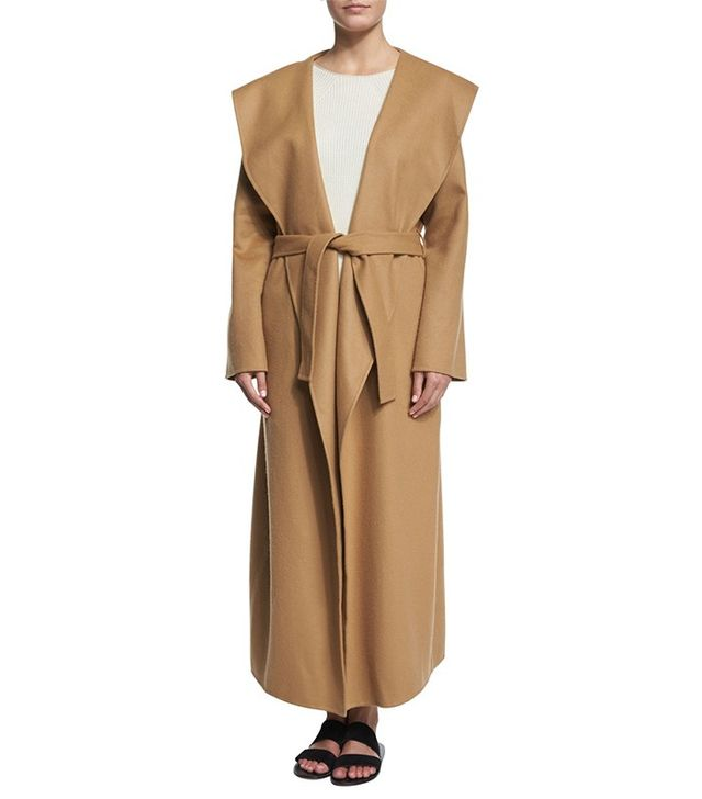 The Row Muna Belted Long Robe Coat