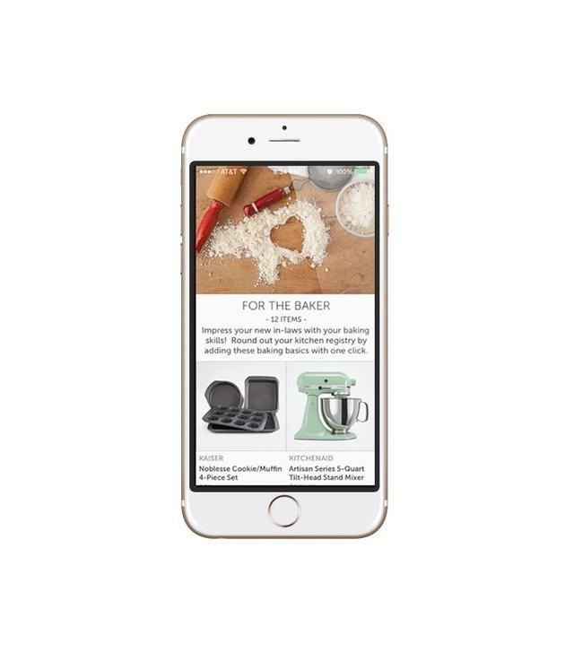 Zola Wedding Registry App