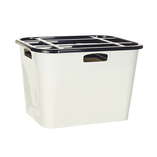 Howards Storage World Flex Box with Lid 45 Litre