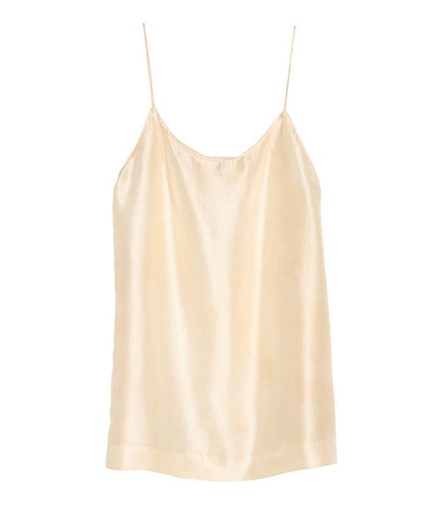 H&M Silk Camisole Top