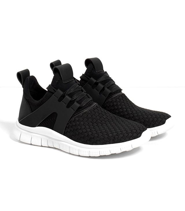 Zara Braided Sneakers