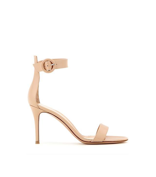 Gianvito Rossi Portofino Patent Leather Sandals