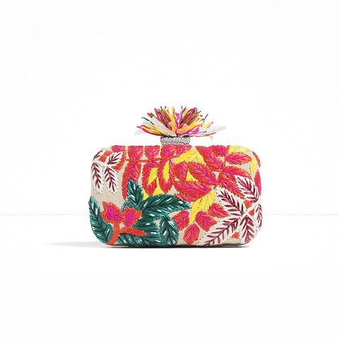 Embroidered Minaudiere