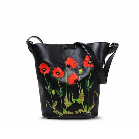 Botannical Embroidery Bag