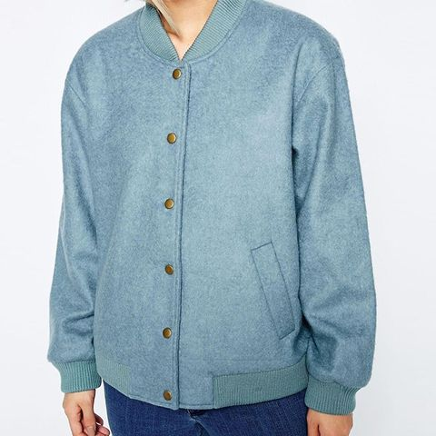 Inglewood Blue Bomber Jacket