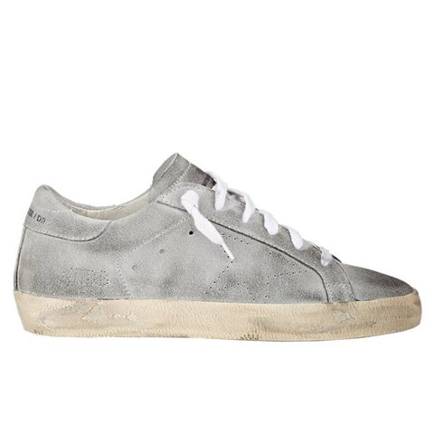Distressed Superstar Sneakers