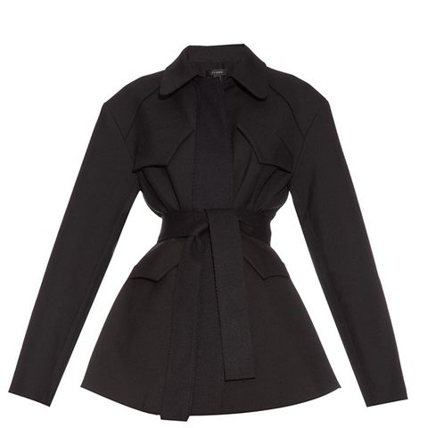 Troupe Single-Breasted Wool Jacket
