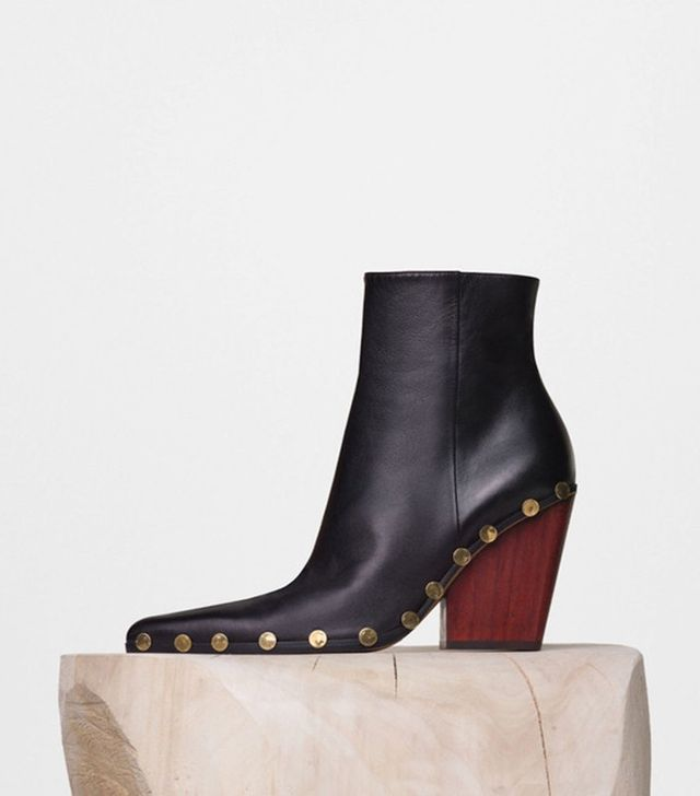 Céline Rodeo High Ankle Boots