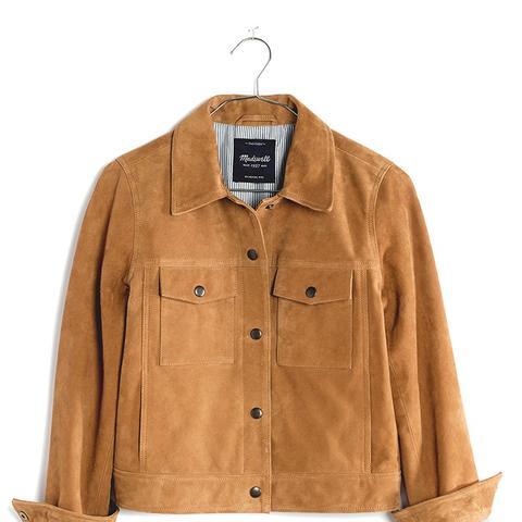 Suede Wayfind Jacket