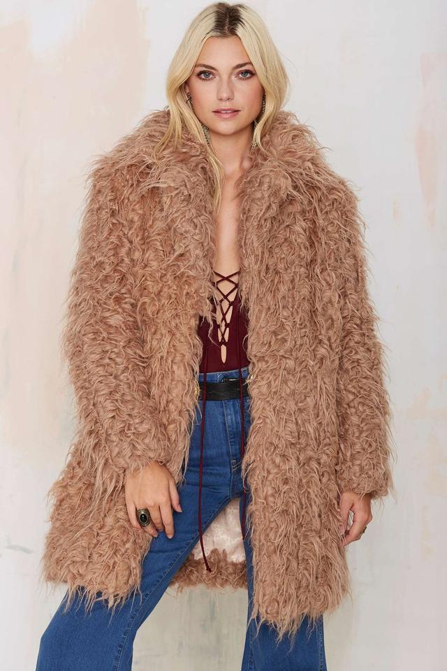 Super Trash Orson Faux Fur Coat