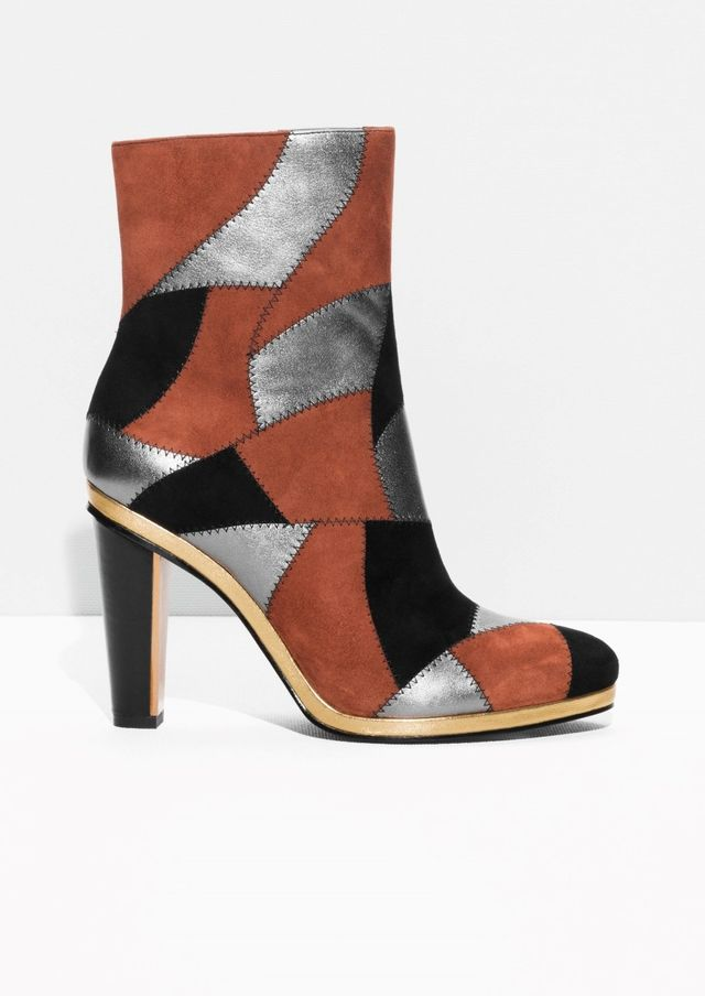 Rodarte x & Other Stories Patchwork Boots