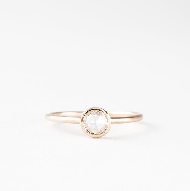 Blanca Monrós Gómez Rosecut Diamond Solitaire Ring