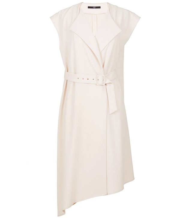 Tibi Structured Crepe Trench Dress
