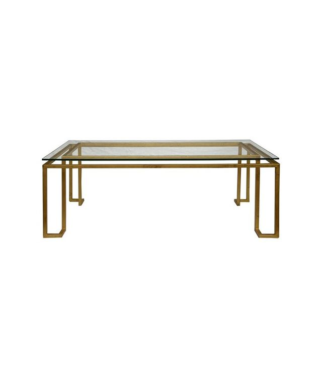 One Kings Lane Linear Coffee Table