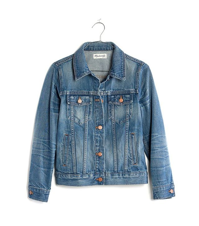 Madewell The Jean Jacket in Pinter Wash