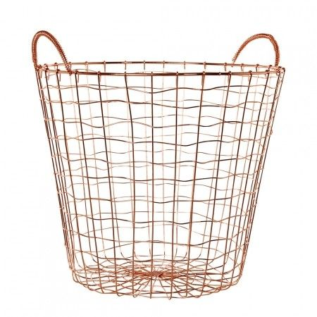 Kmart Copper Coloured Basket