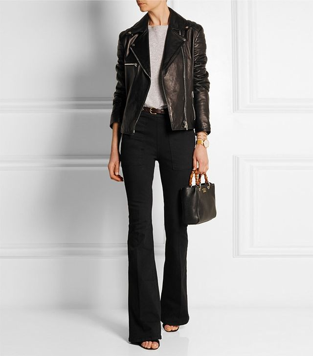 Frame Denim Le Flare de Francoise High-Rise Jeans