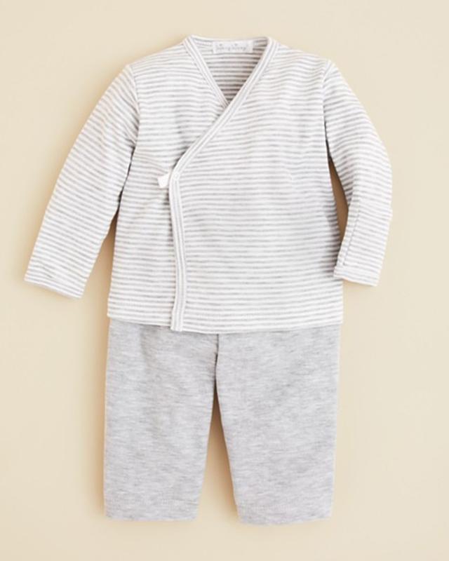Kissy Kissy Infant Unisex Essential Stripe Top & Pants Set