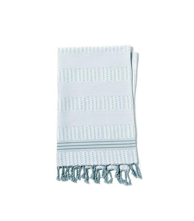 West Elm Geo Hammam Hand Towel