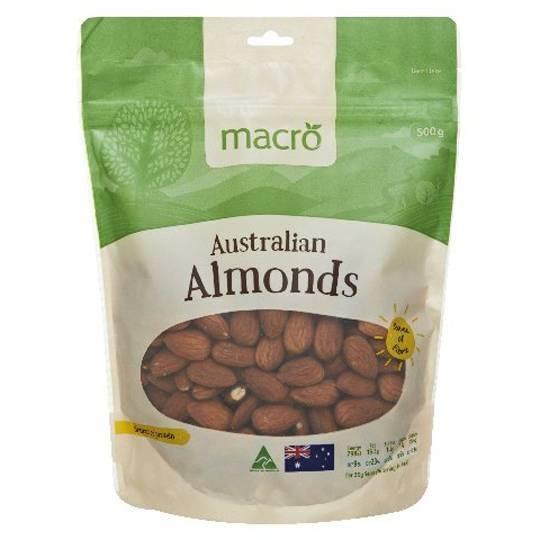 Woolowrths Macro Raw Almonds