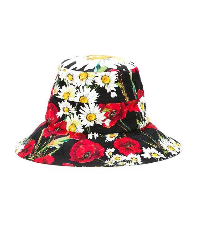 Dolce & Gabbana Printed Bucket Hat