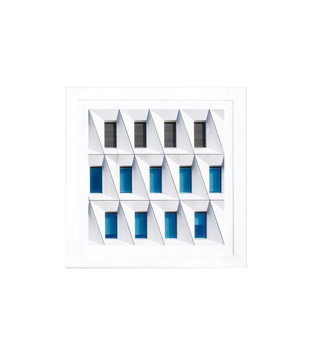iCanvas Backslashed Giclée Print Framed Canvas Art