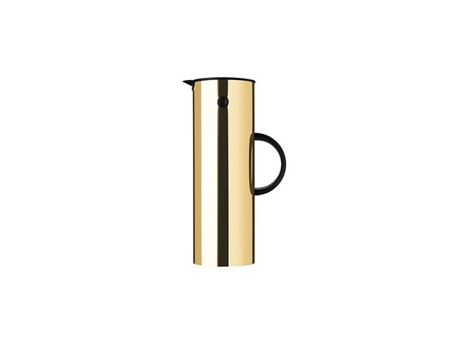 Stelton Brass Vacuum Jug for Coffee or Tea
