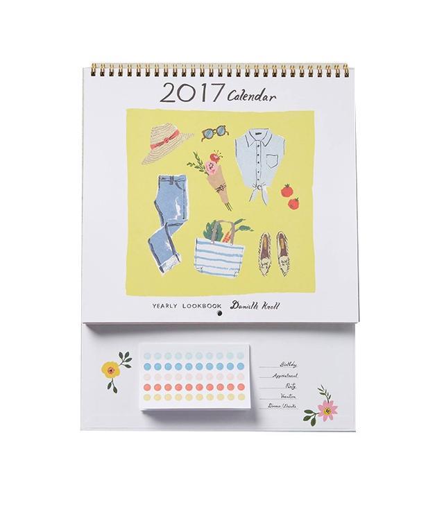 Danielle Kroll Yearly Lookbook 2017 Activities Calendar