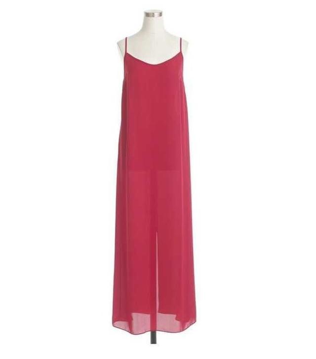J.Crew Crepe Maxi Dress