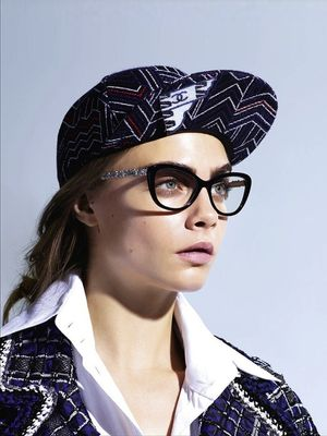 Cara Delevingne Stars In Chanel's S/S 2016 Eyewear Campaign
