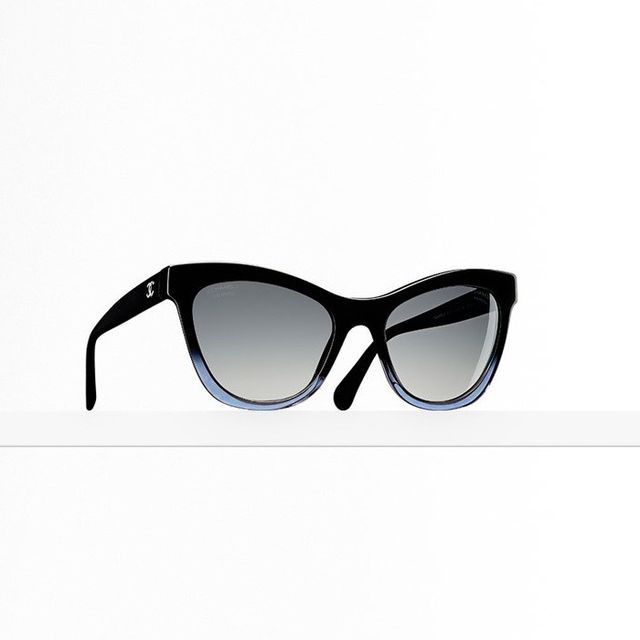 Chanel Cat Eye Signature Sunglasses