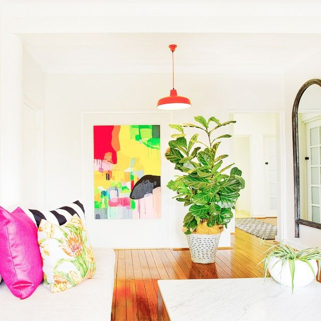 Step Inside a Vibrantly Chic Bellevue Hill Home