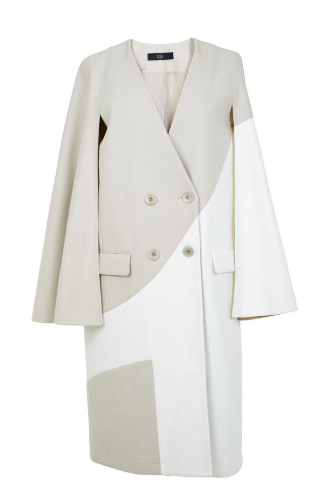 Tibi Siku Applique Maxi Coat