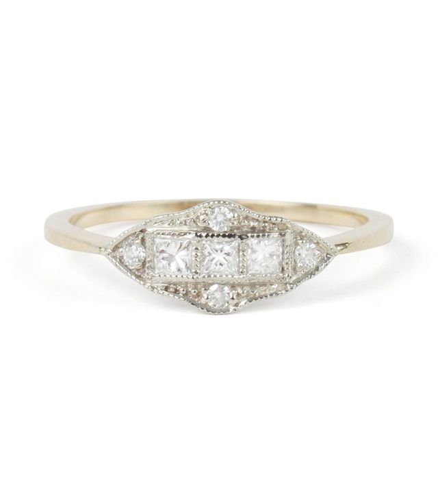 1909 by Erica Weiner Catbird Exclusive Machine Age Ring