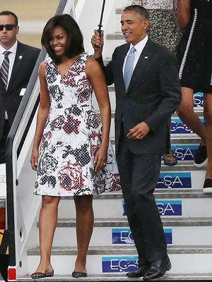 What Michelle Obama Wore on Her Historic Trip to Cuba