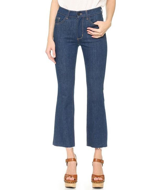 Siwy Cropped Flare Jeans