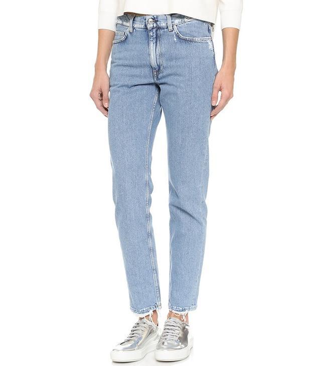 Acne Studios Boy Frayed Jeans