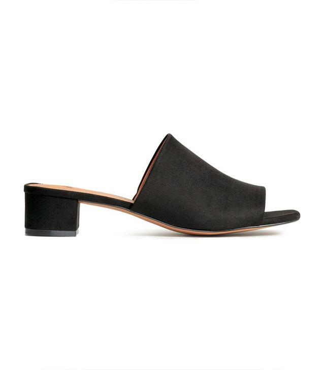 H&M Mules with Block Heel