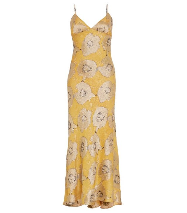 Brock Collection Floral Silk Jacquard Delhi Dress