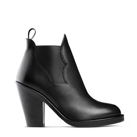 Star Black Ankle Boots
