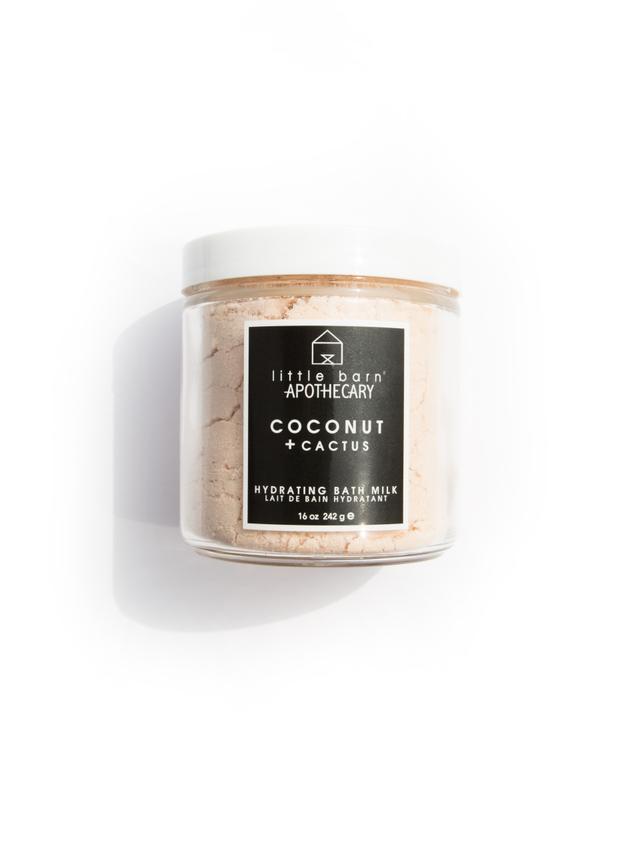 Little Barn Apothecary Coconut + Cactus Hydrating Bath Milk