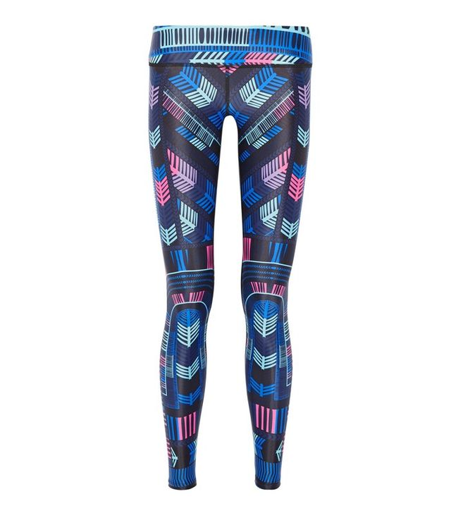 Mara Hoffman Voyager Printed Stretch Jersey Leggings