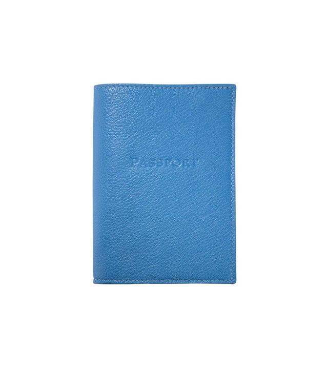 Graphic Image Leather Passport Cover