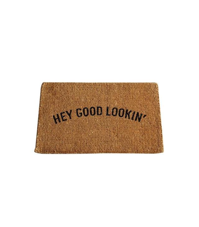 West Elm Hey Good Lookin' Coir Doormat