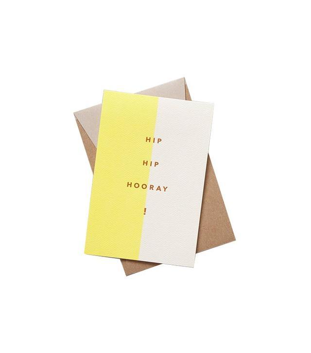 Modern Lore Hip Hip Hooray Card