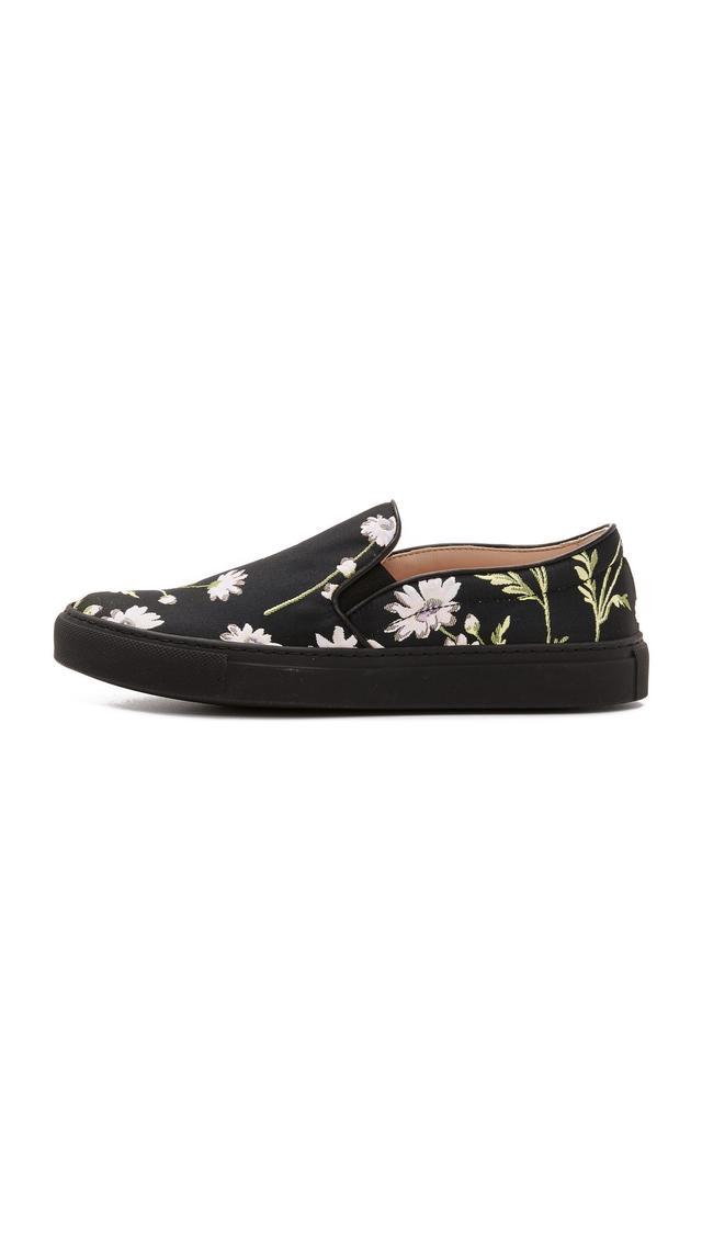 Giambattista Valli Floral Sneakers